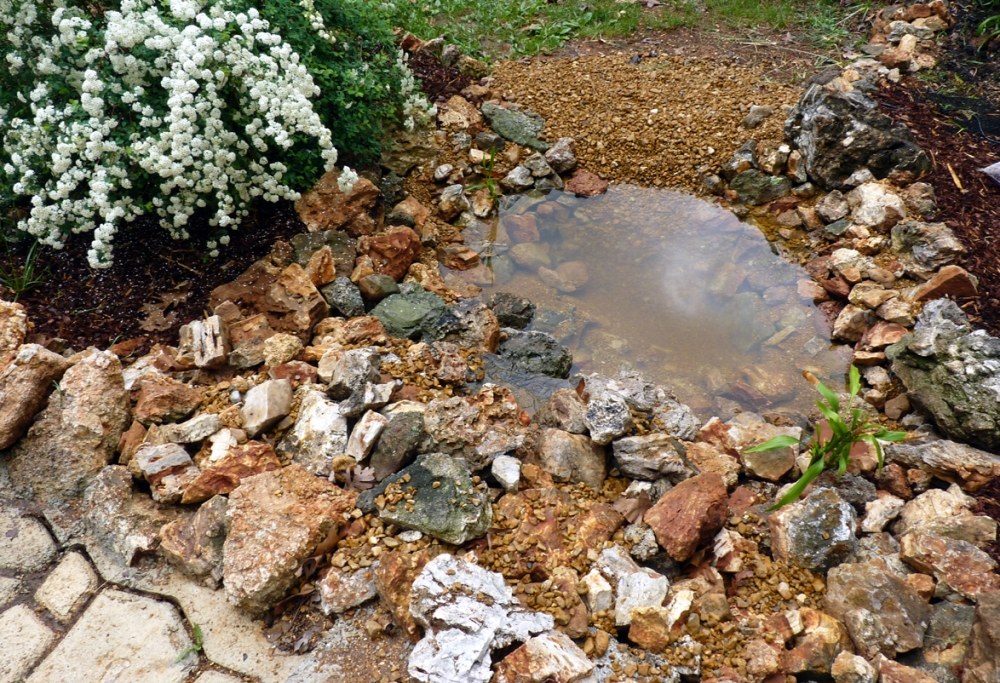 Building a Pond: Part 3, Waterfall & Fancy Bits  (4/5)